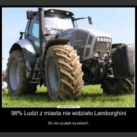 98% Ludzi z miasta nie widziało Lamborghini